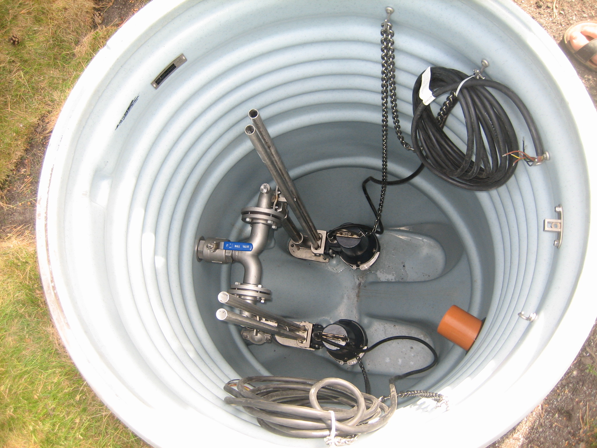 A sump pump